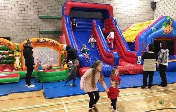 Kenton Park Sport Centre Bouncy Castle Party
