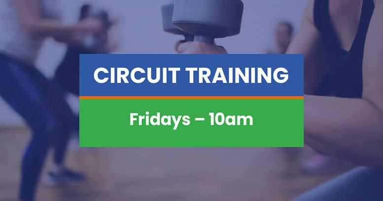 Circuit training Kenton Park Sports Centre